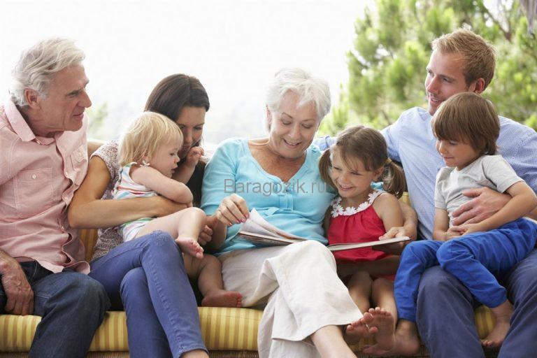 Дети уважают стариков