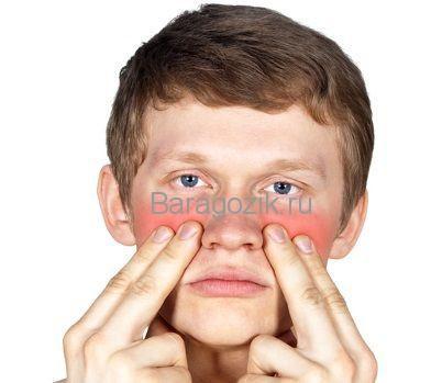 Симптомы и признаки гайморита у ребенка
