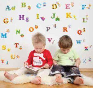 Обучение двухлетних детей английскому языку