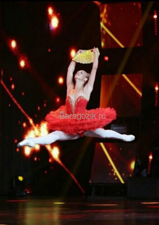Танец Насти Яшкиной