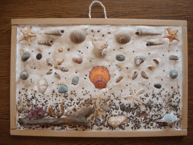 песочное панно