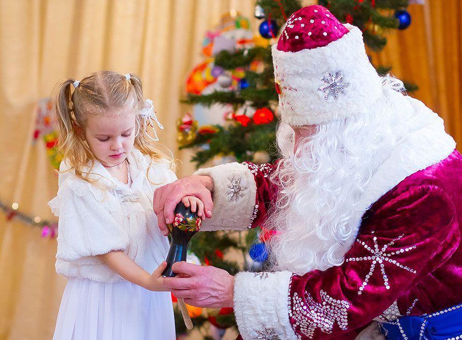 Игры с Дедом Морозом