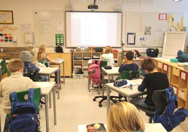 Школьный урок в Норвегии
