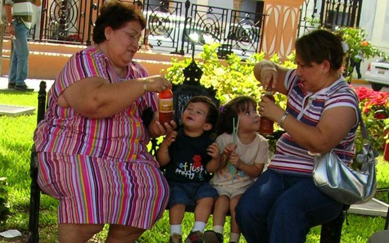 Воспитание детей в Мексике