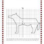 рисунок по координатам волк