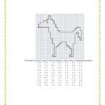 рисунок по клеткам лошадка