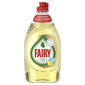 Новый Fairy для детской посуды эффективен и безопасен для самых маленьких
