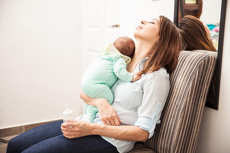 Как предотвратить энергетическое выгорание молодой маме