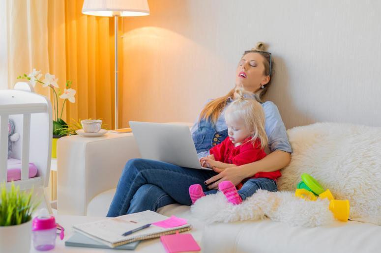 Где брать силы молодой маме в декретном отпуске