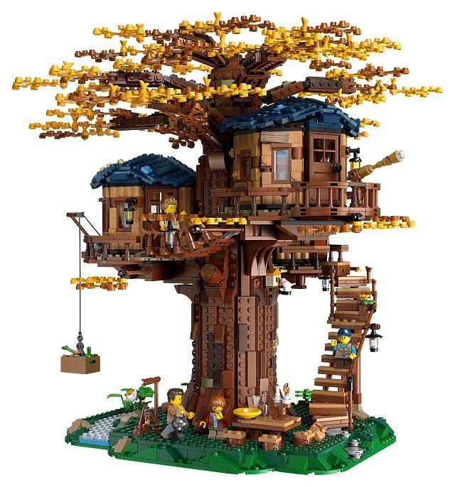 lego дерево