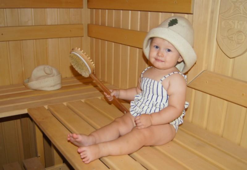 Польза бани для ребенка